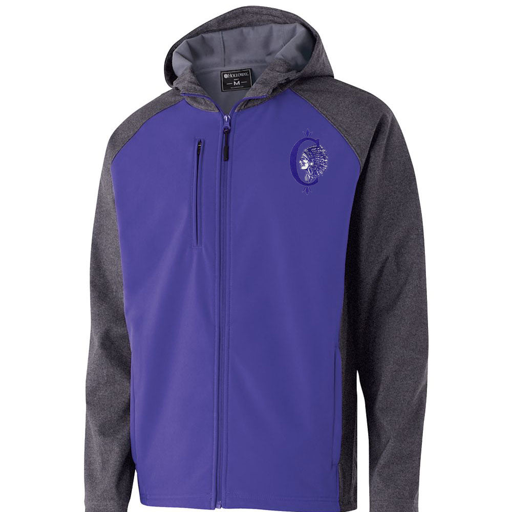 Collinsville Raider Hooded Softshell Jacket