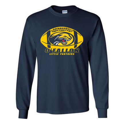 Full Color Football Long Sleeve Tee