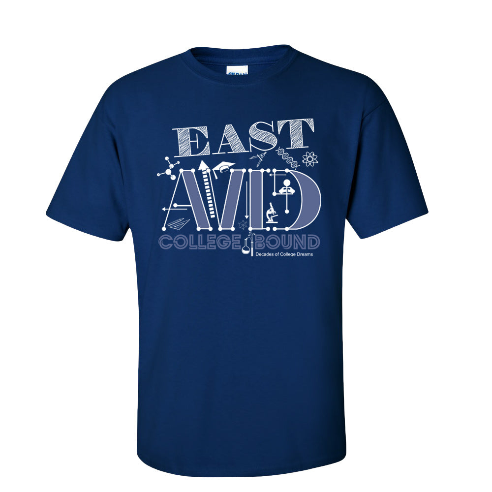 East AVID College Bound Shortsleeve T-shirt