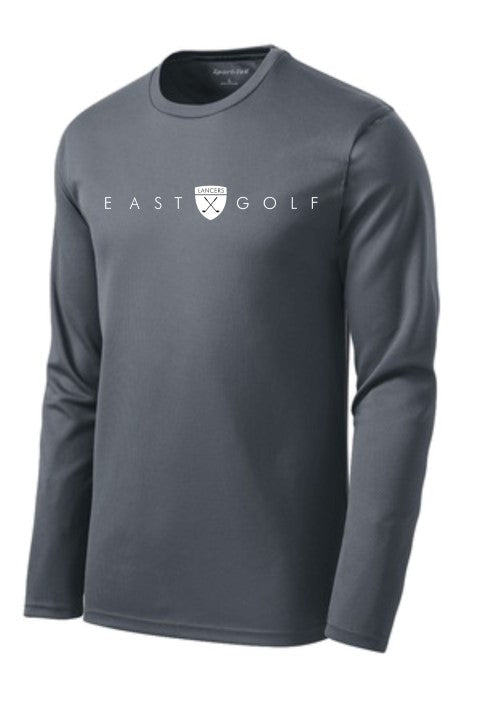 East Golf Sport-Tek Dri-Mesh Long Sleeve T-Shirt