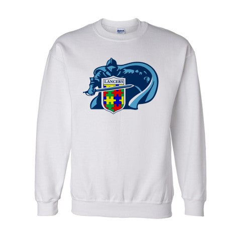 East Lancer Autism Crewneck Sweatshirt