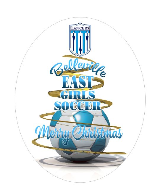 East Soccer Ornament