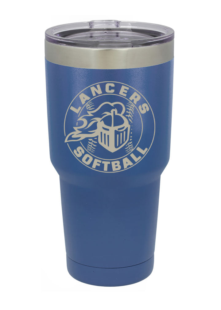 East Softball Vacuum Insulated Tumbler