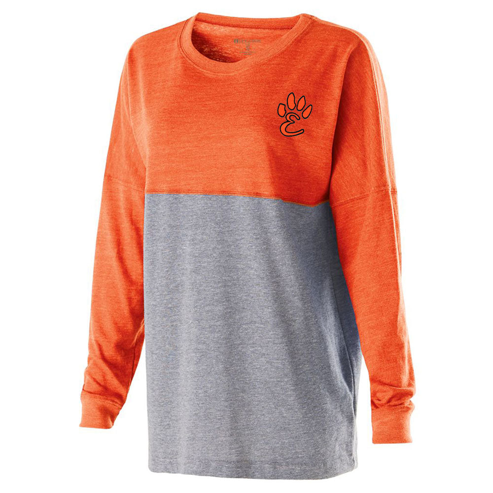 Edwardsville High School Low Key Ladies Pullover