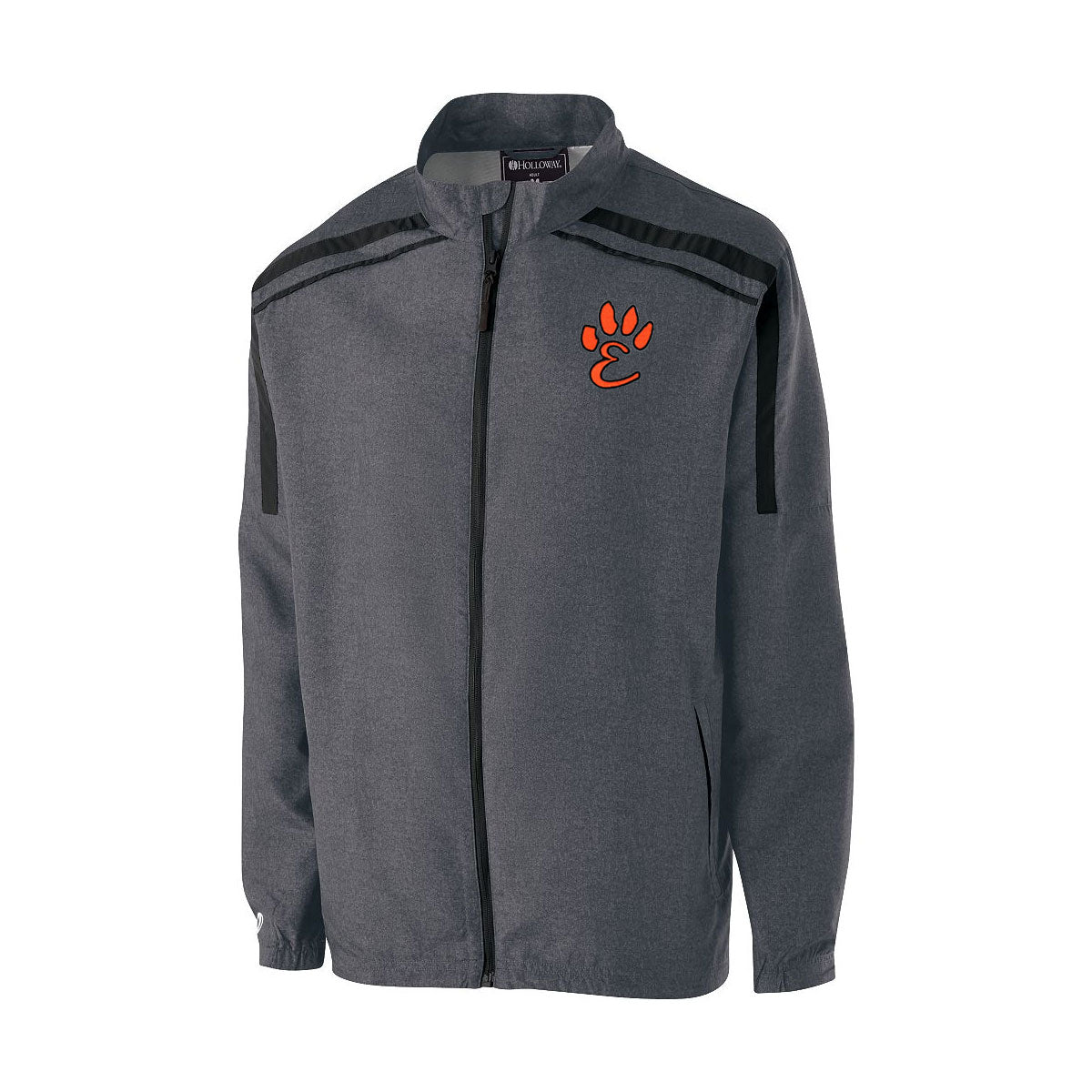 Edwardsville High School Raider Full Zip Lightweight Jacket