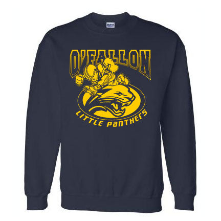 Football Player Crewneck Sweatshirt