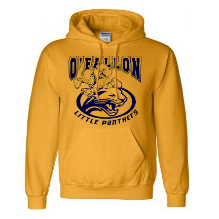Football Player Hooded Sweatshirt