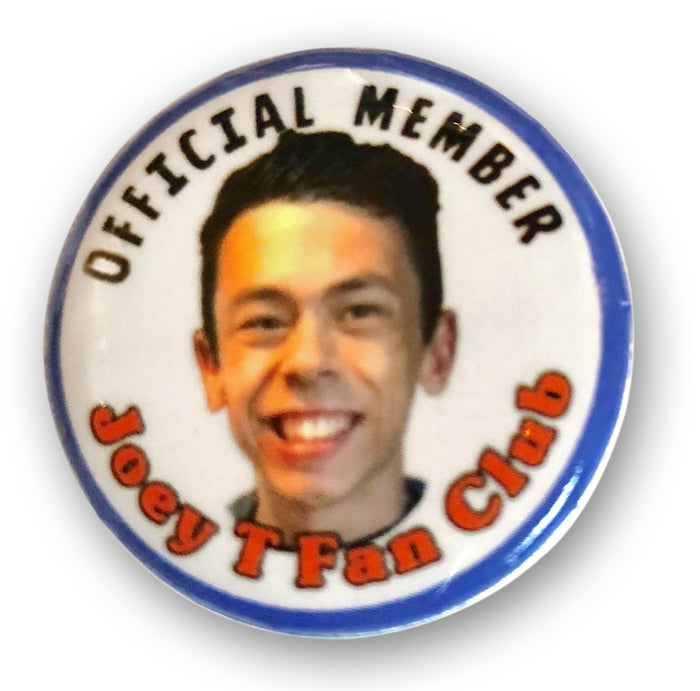 Joey T Fan Club Button