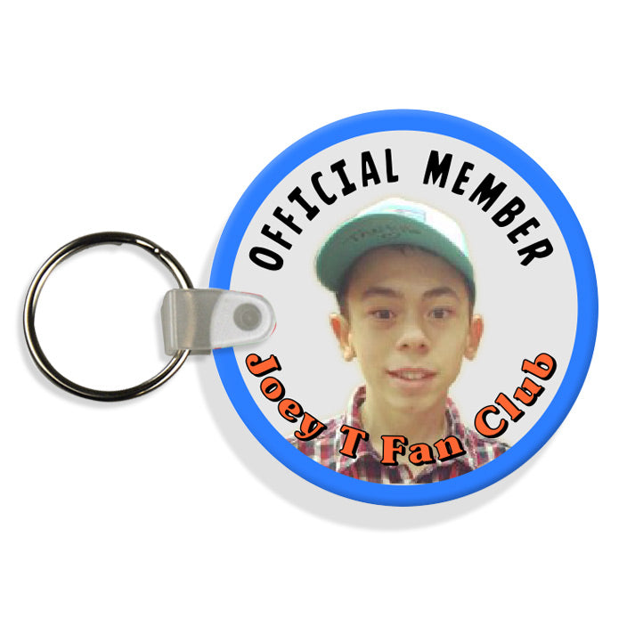 Joey T Fan Club Keychain