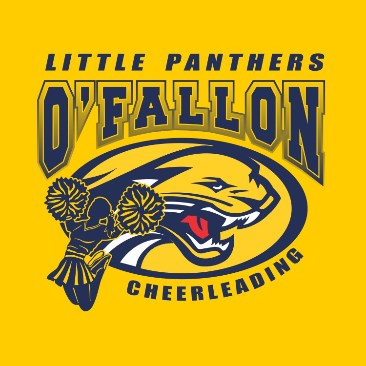 Little Panthers Cheerleading with Girl Shirts