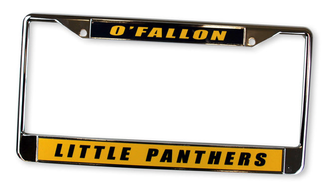 Little Panthers License Plate Frame