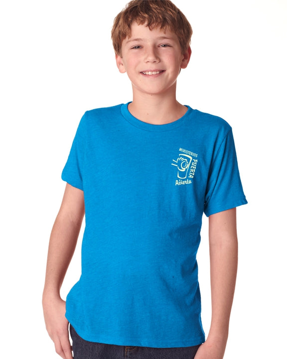 ODM Next Level Boys' Triblend Crew Tee
