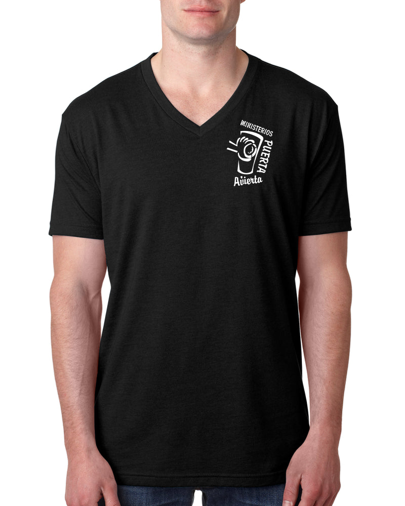 ODM Next Level Men's Premium CVC V-Neck Tee