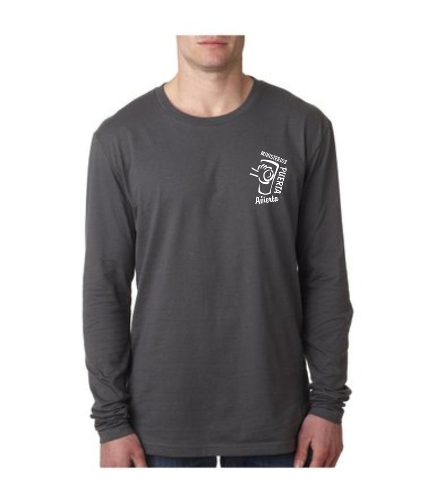 ODM Next Level Men's Premium Fitted Long-Sleeve Crew Tee