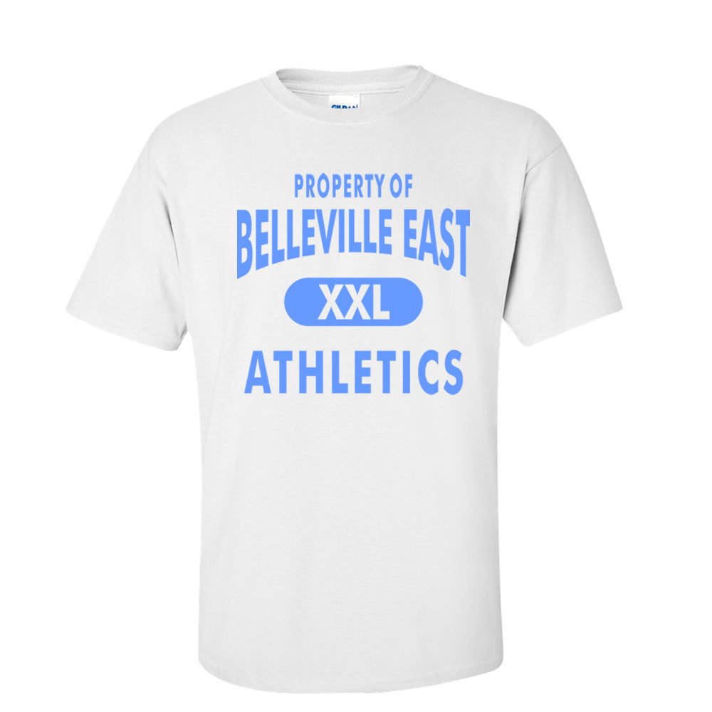 Proeprty Of Belleville East Athletics Tee