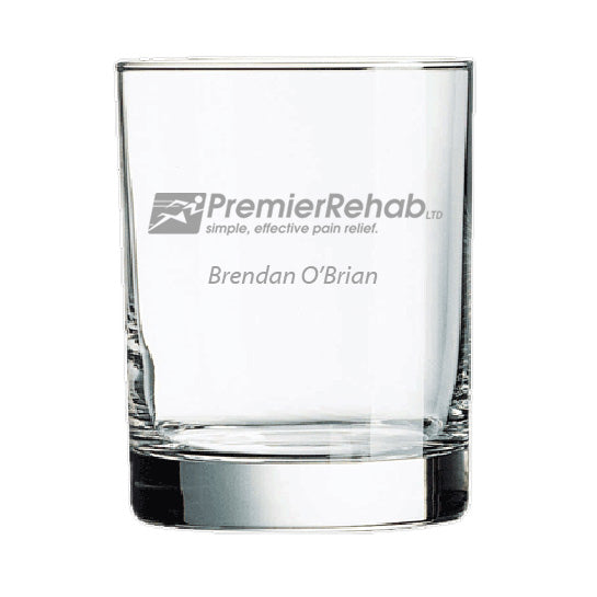 Set of 4 Premier Rehab Rocks Glasses