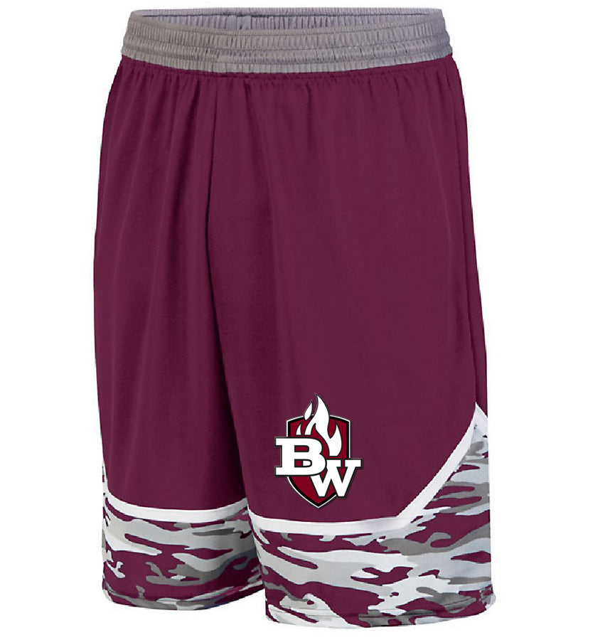 West Game Day Basketball Short