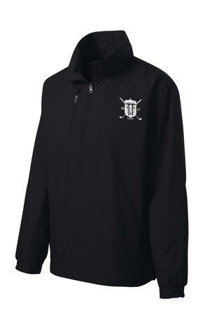 East Golf Port Authority 1/2-Zip Wind Jacket