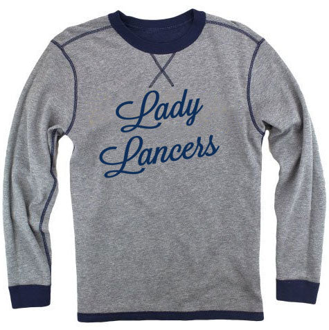 Lady Lancer Reversible Crew Sweatshirt