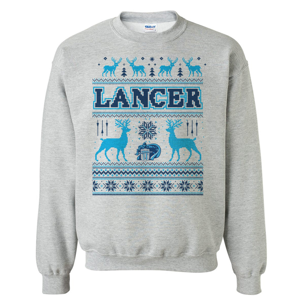 Lancer Ugly Sweater Design Crewneck