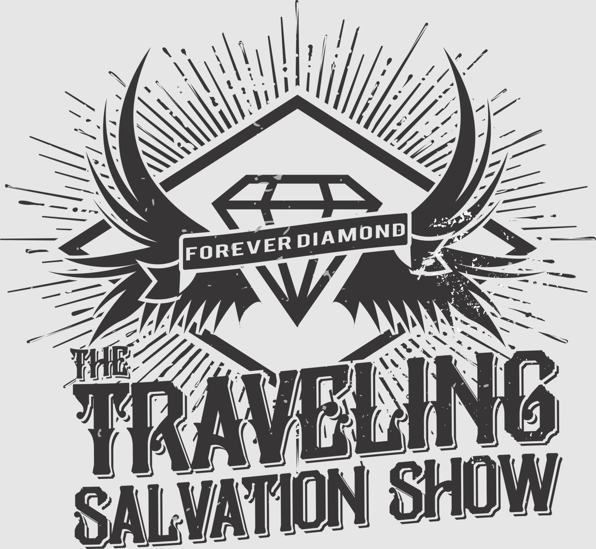 The Travling Salvation Show T-shirt