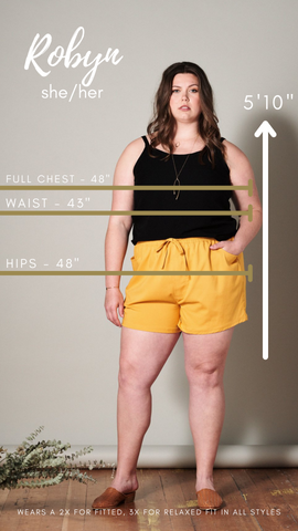 Robyn, she/her, sizing