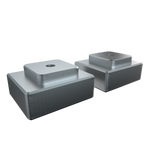 IDOBAO keyboard WLK blocking  1.25X 1.5X aluminum block