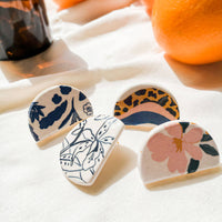 Marina Ceramic Earrings | Different Prints