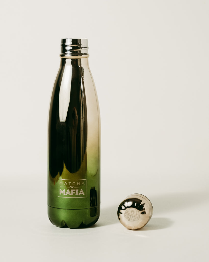 Matcha Mafia x Holy Water Gold Bottle