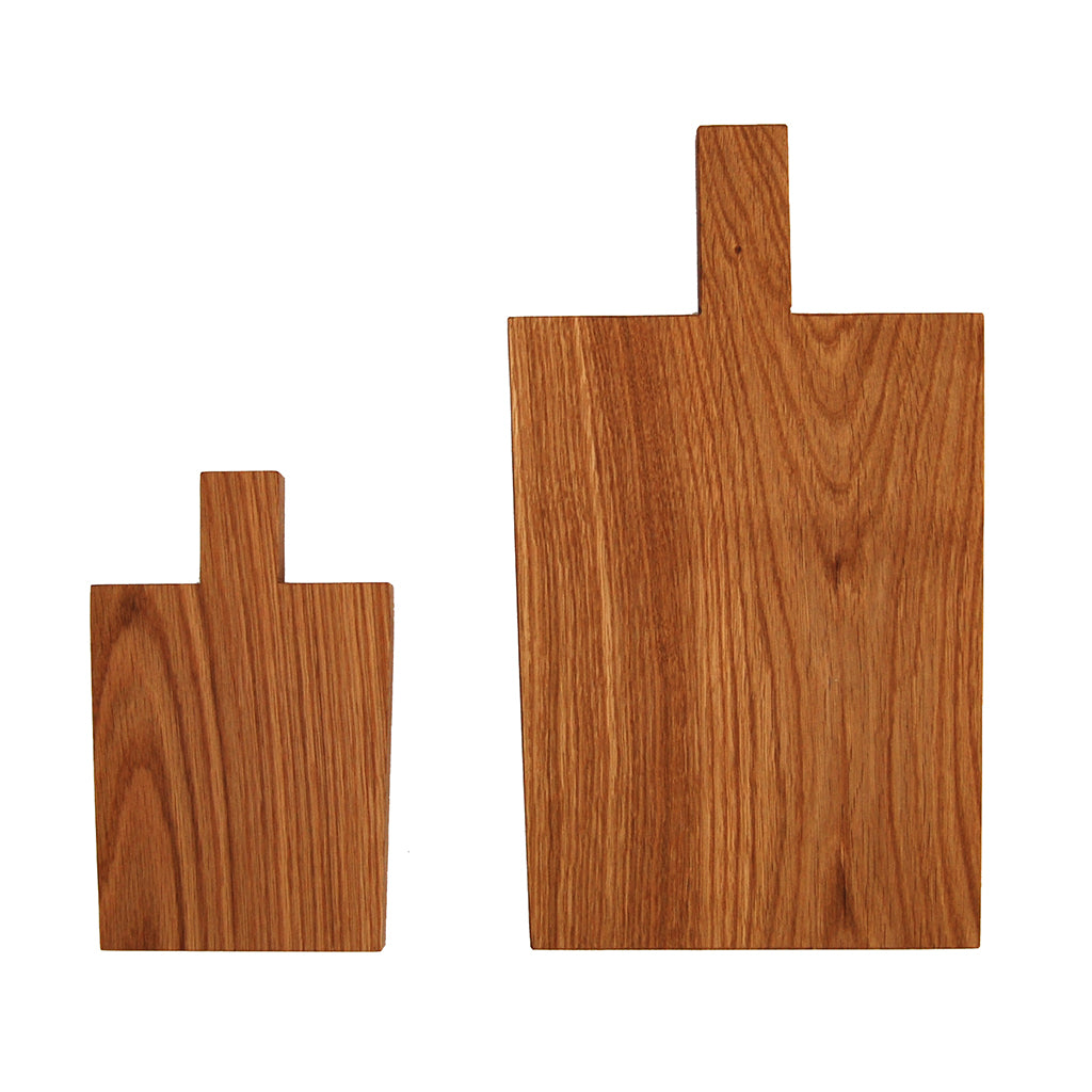 Two different size wooden cutting boards