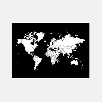 Go World Map by Bold Tuesday