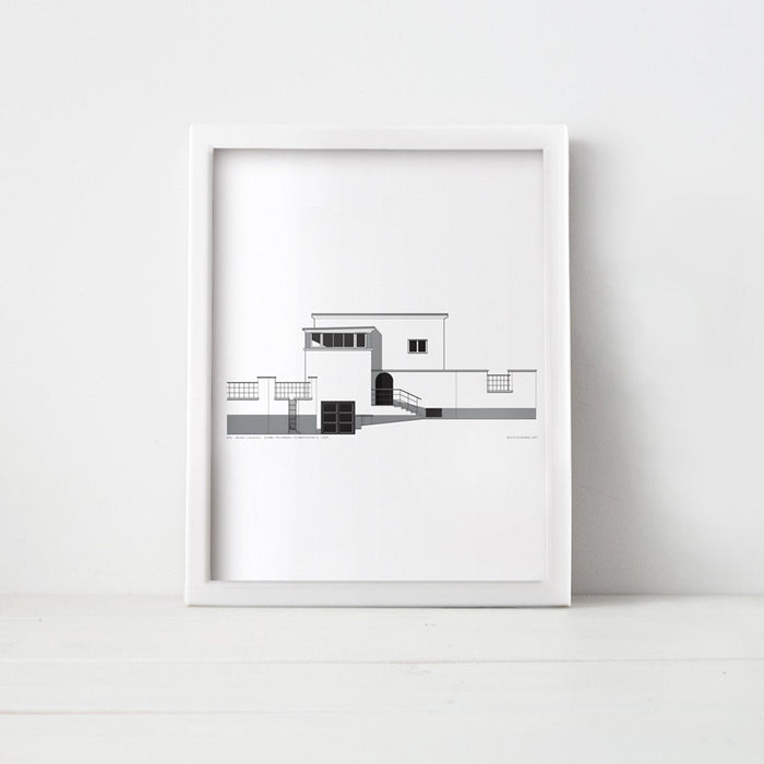 Two Apartments Print by Estonian Wall Art