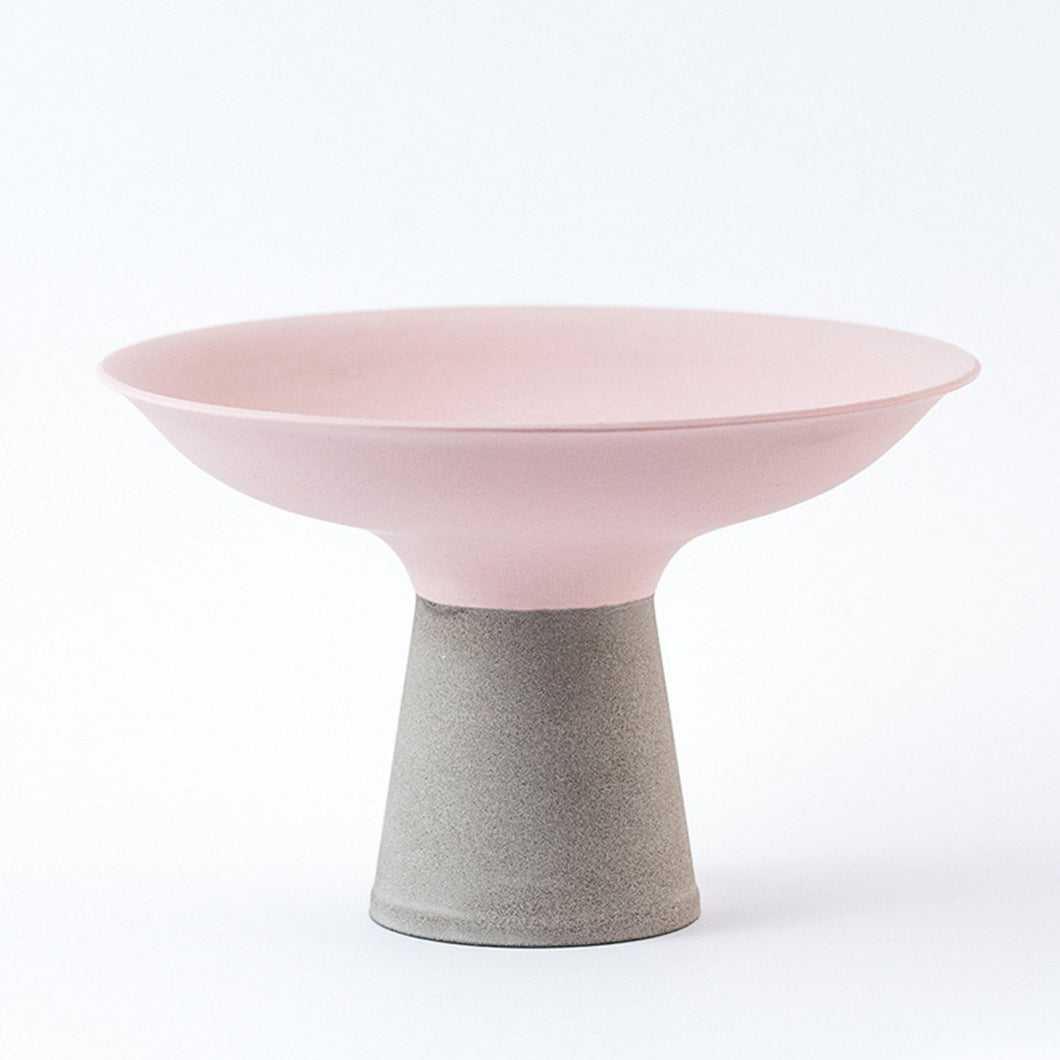 Concrete Bowl - Pink by Nüüd Ceramics