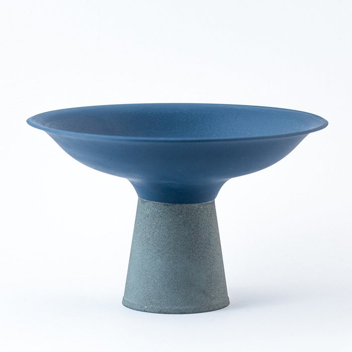 Concrete Bowl - Blue by Nüüd Ceramics