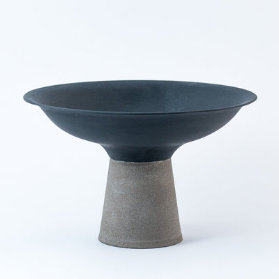 Concrete Bowl - Grey by Nüüd Ceramics