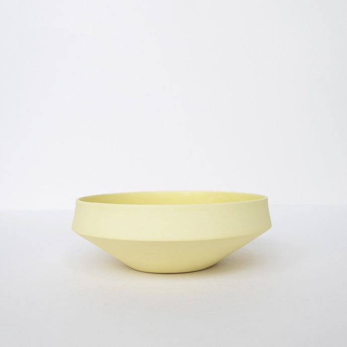 Small Porcelain Bowl - Yellow by Nüüd Ceramics
