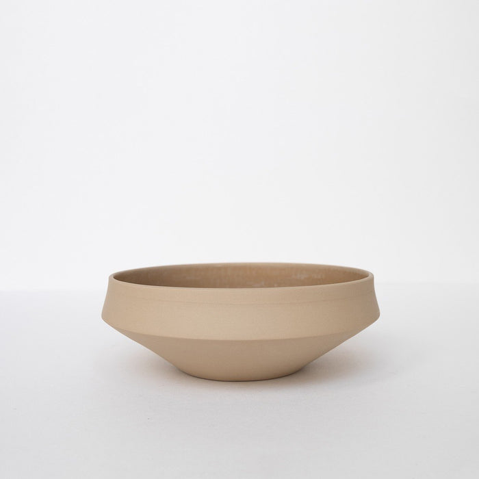 Small Porcelain Bowl - Beige by Nüüd Ceramics