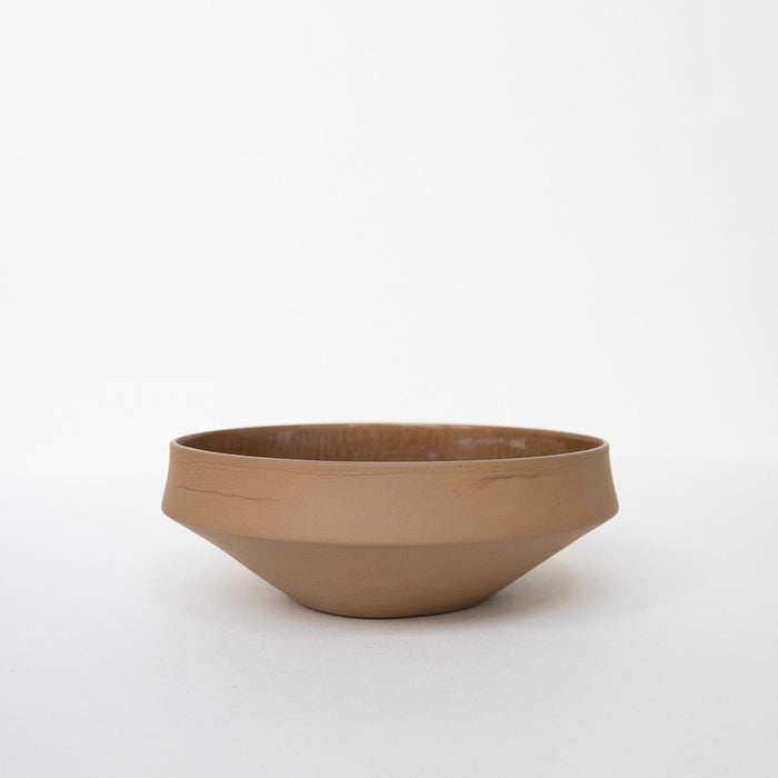 Small Porcelain Bowl - Brown by Nüüd Ceramics