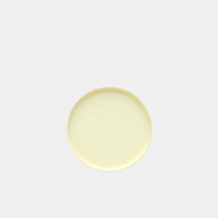 Small Porcelain Plate - Yellow by Nüüd Ceramics