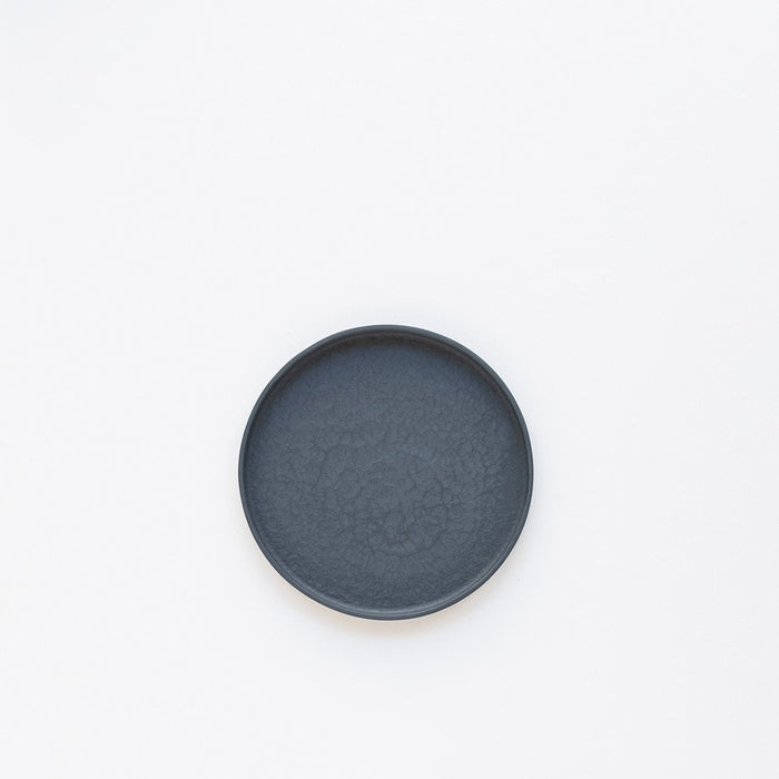Small Porcelain Plate - Black by Nüüd Ceramics