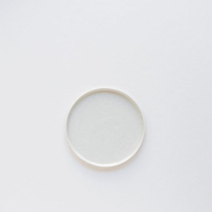 Small Porcelain Plate - White by Nüüd Ceramics