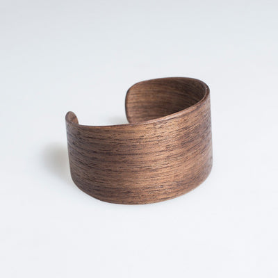 Walnut Woody Bracelet by Lentsius Design