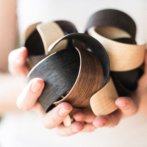 Birch Woody Bracelet by Lentsius Design
