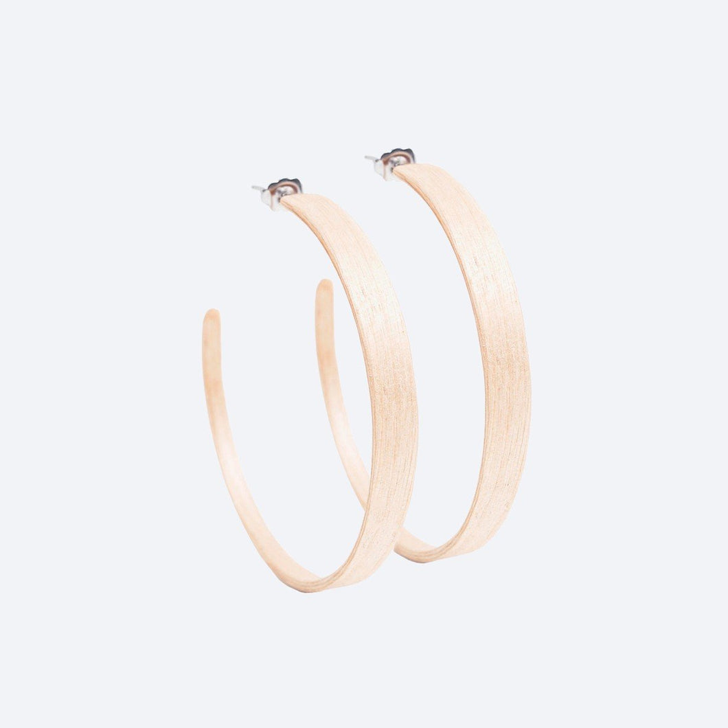 Birch Ring Earrings by Lentsius Design