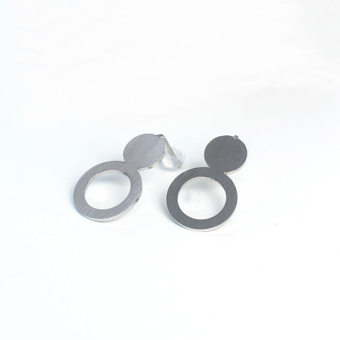 Arc Earrings by Lentsius Design