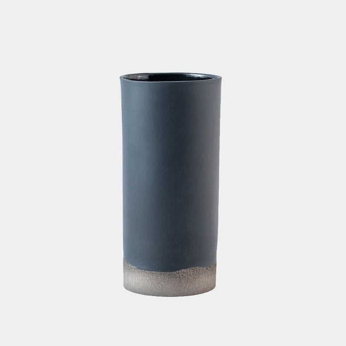 Porcelain & Concrete Vase - Grey by Nüüd Ceramics