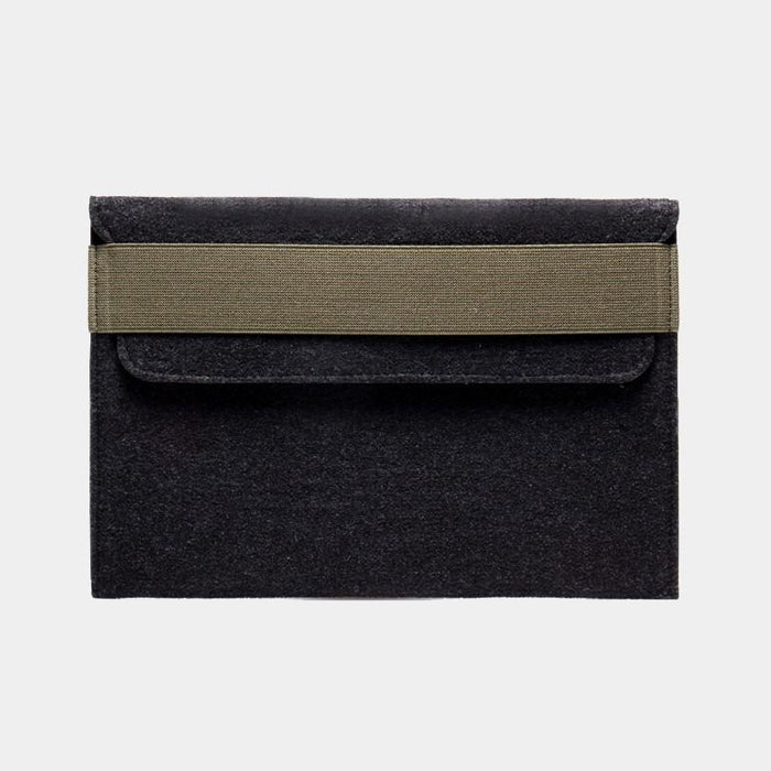 Felt Laptop Sleeve - Dark Grey by WOH