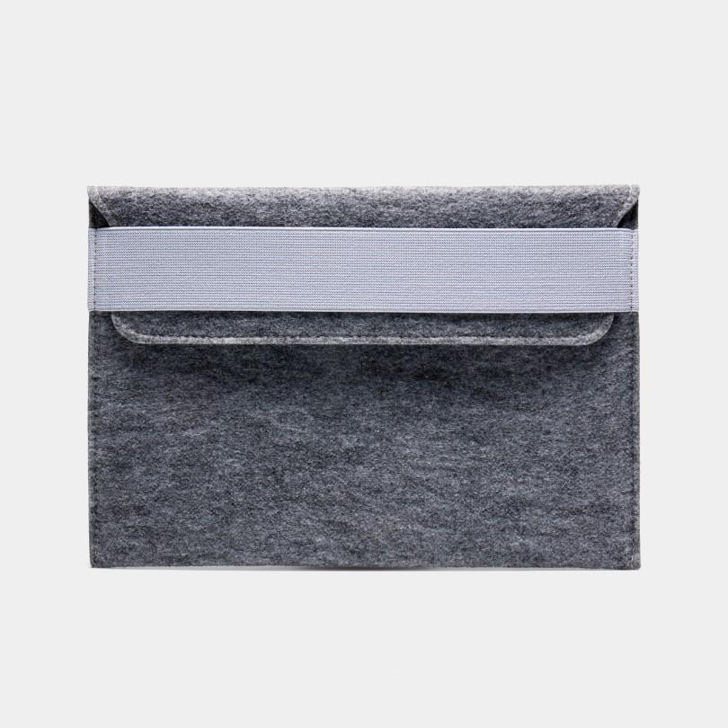 Felt Laptop Sleeve - Grey by WOH