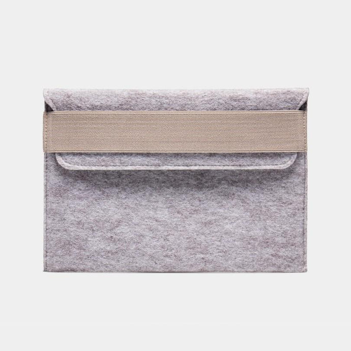 Felt Laptop Sleeve - Beige by WOH