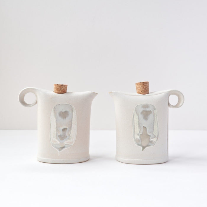 Oil & Milk Can - White by Jarõna Ilo